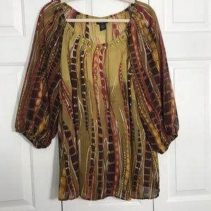 LANE BRYANT, Women's Semi Sheer Blouse, size 18/20
